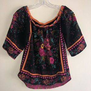 Rue 21 Bohemian Loose Top S